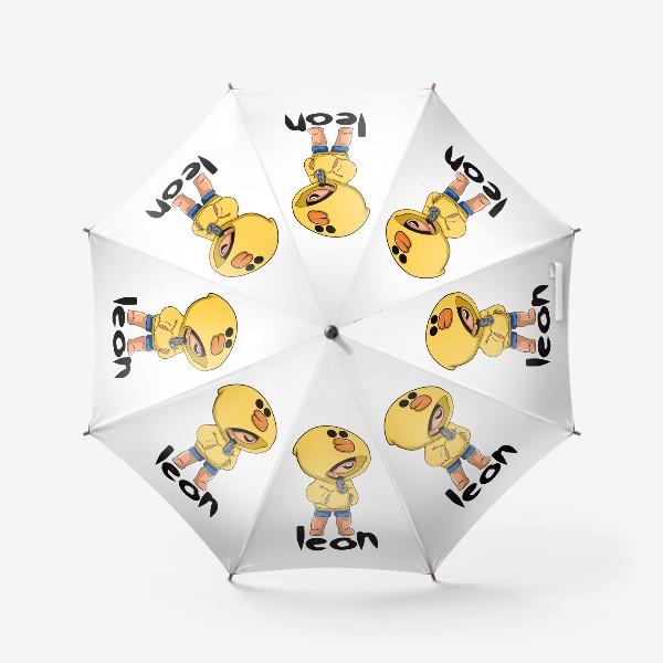 Зонт «Brawl Stars. Leon. Duck»