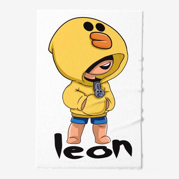Полотенце «Brawl Stars. Leon. Duck»