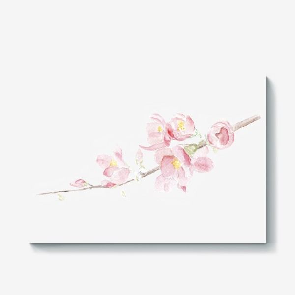 Холст «Весенняя сакура. Душа цветет...»