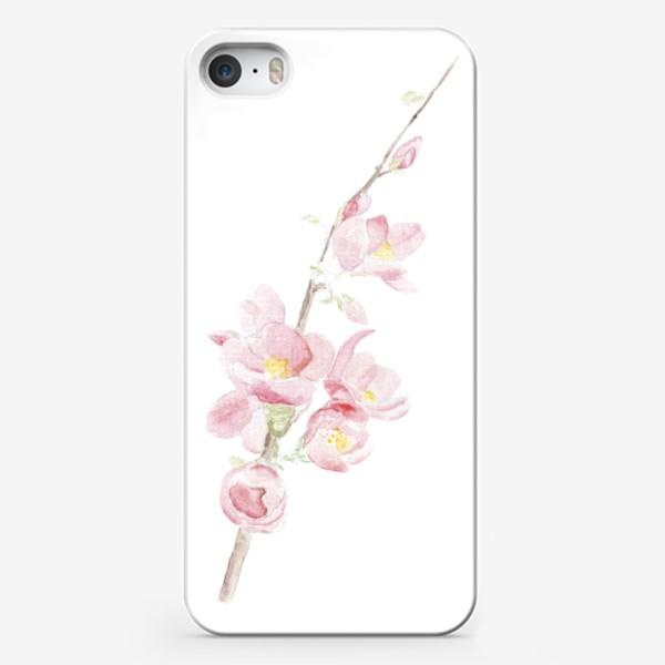 Чехол iPhone «Весенняя сакура. Душа цветет...»