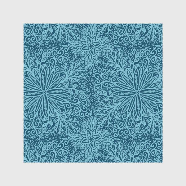 Скатерть «Голубые растения»