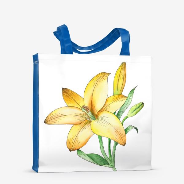 Сумка-шоппер «Желтый лилейник»