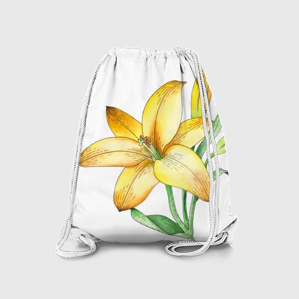 Рюкзак «Желтый лилейник»