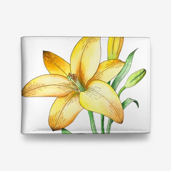 Кошелек «Желтый лилейник»