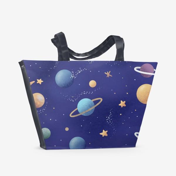 Пляжная сумка «Космос»