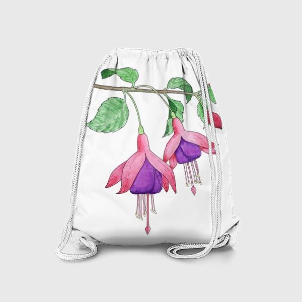 Рюкзак «Ветка фуксии»