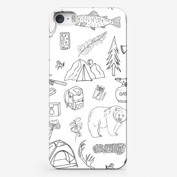 Чехол iPhone «походная жизнь, туризм»