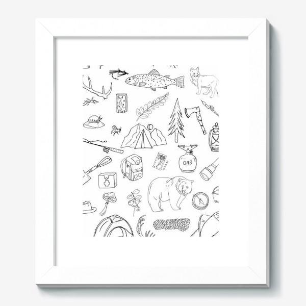 Картина «походная жизнь, туризм»