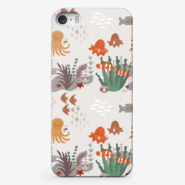 Чехол iPhone «Подводная тусовка»