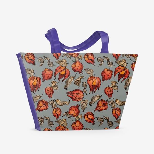 Пляжная сумка «Физалис»