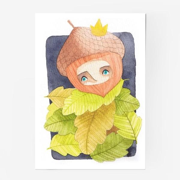 Постер «жёлудь»