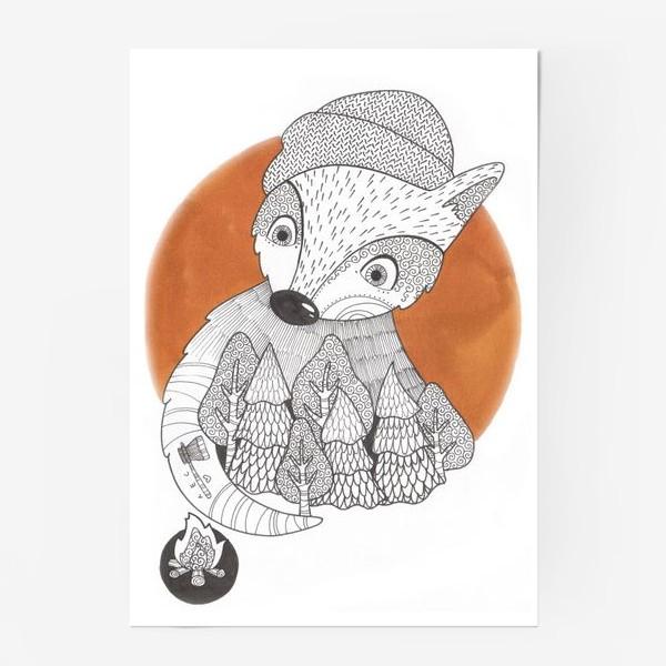 Постер «Лис лесник»