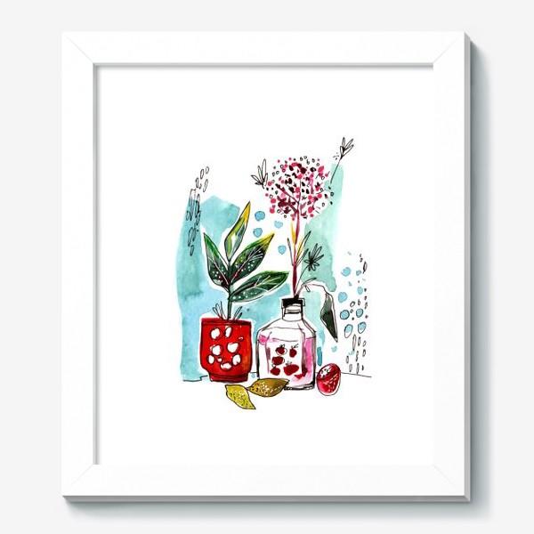 Картина «Акварельный натюрморт»