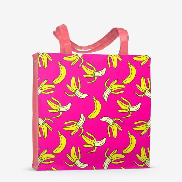 Сумка-шоппер «Банановый паттерн»