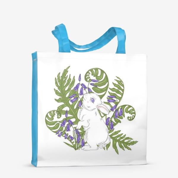 Сумка-шоппер «кролик весной»