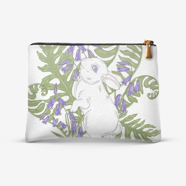 Косметичка «кролик весной»