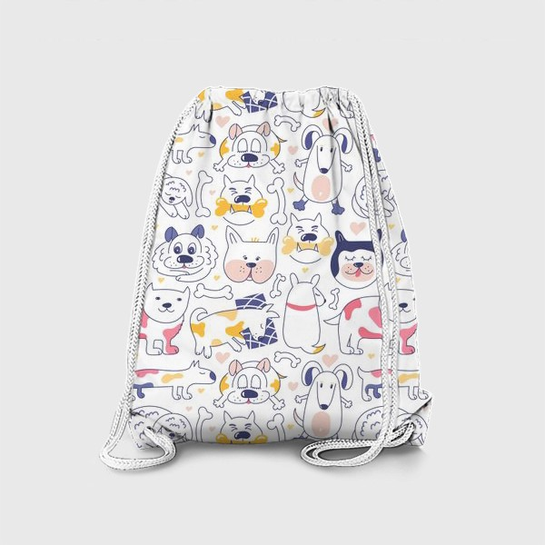 Рюкзак «Собаки line art»