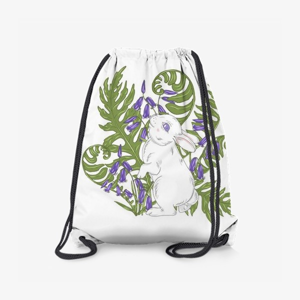 Рюкзак «кролик весной»