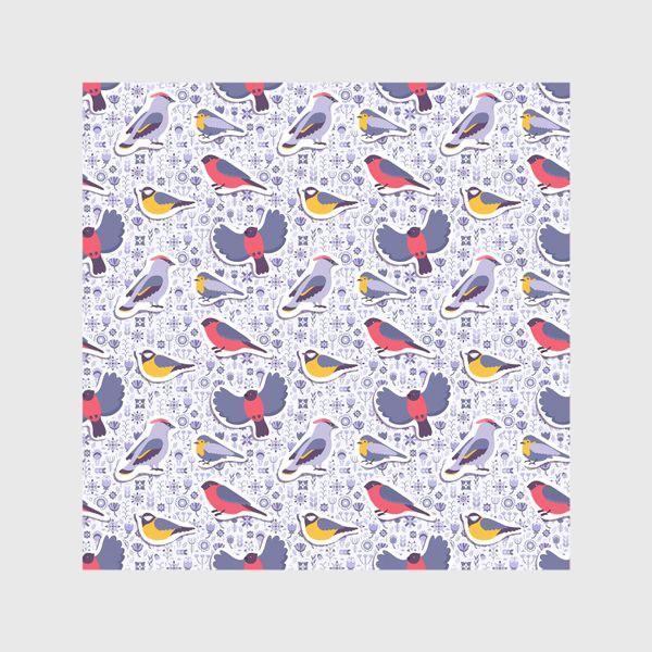 Скатерть «Зимние птицы»
