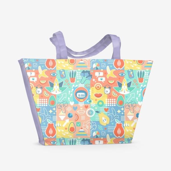 Пляжная сумка «Лайфстайл»