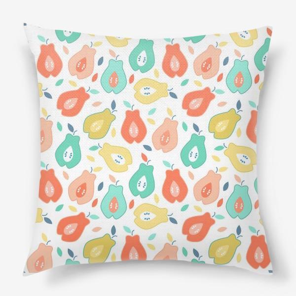 Подушка «Спелые фрукты»
