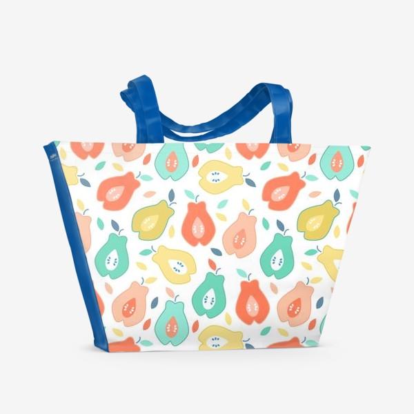 Пляжная сумка «Спелые фрукты»