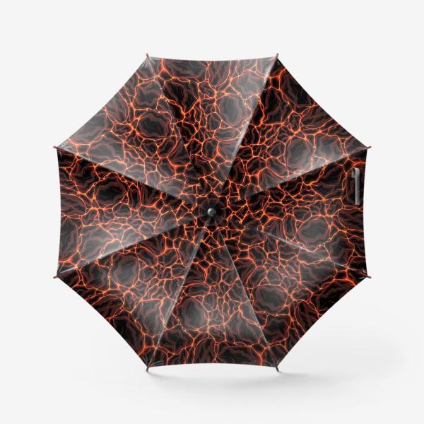 Зонт «Потоки лавы»