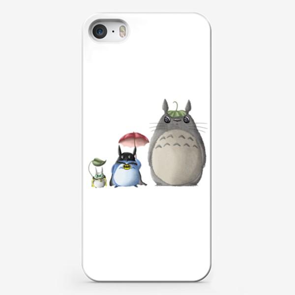 Чехол iPhone «Тоторо и Ко»