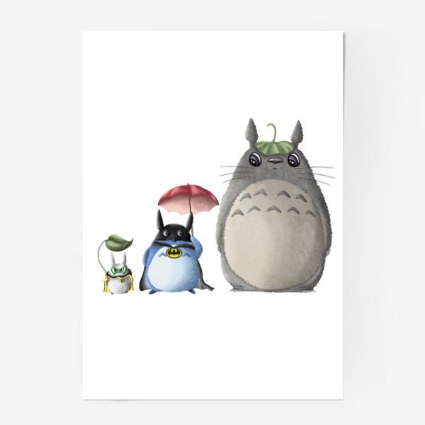Постер «Тоторо и Ко»