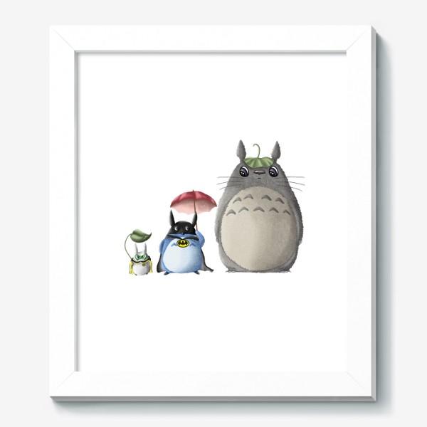 Картина «Тоторо и Ко»