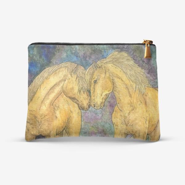 Косметичка «Две лошади»