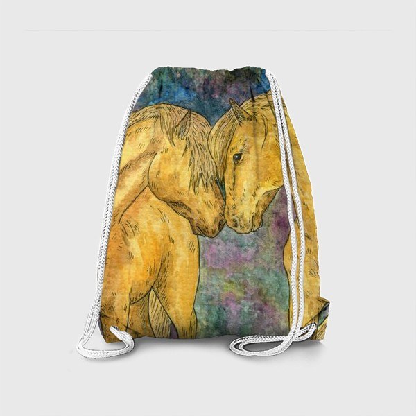Рюкзак «Две лошади»