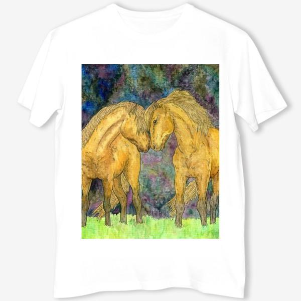 Футболка «Две лошади»