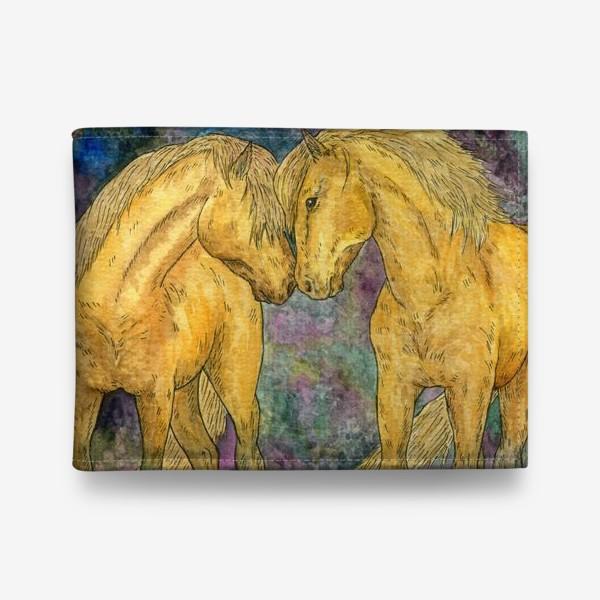 Кошелек «Две лошади»