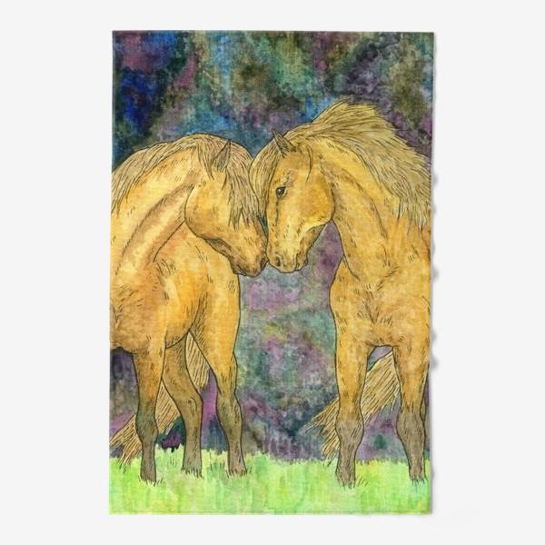 Полотенце «Две лошади»