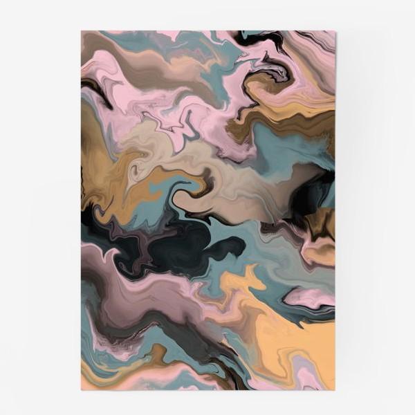 Постер «абстрактный фон с эффектом акрила »
