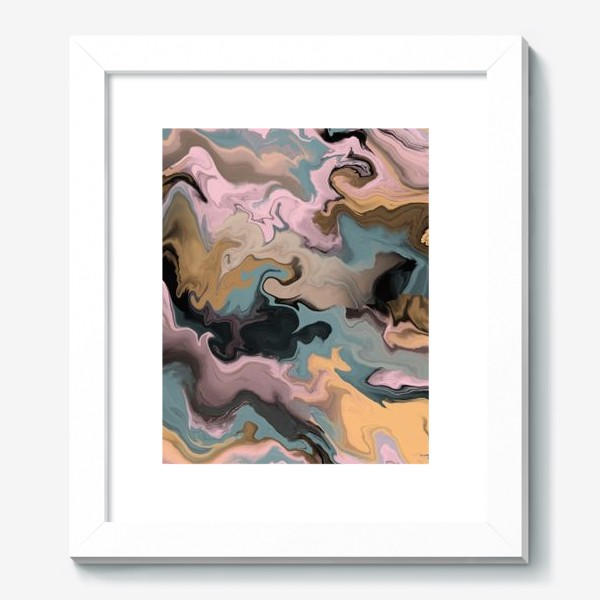 Картина «абстрактный фон с эффектом акрила »