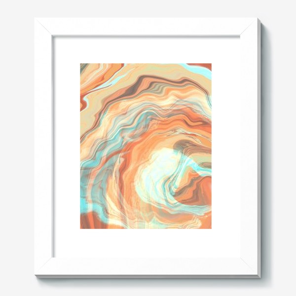 Картина «абстрактный оранжевый фон с эффектом акрила »