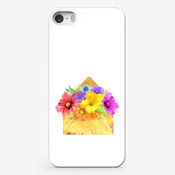 Чехол iPhone «Письмо из лета»