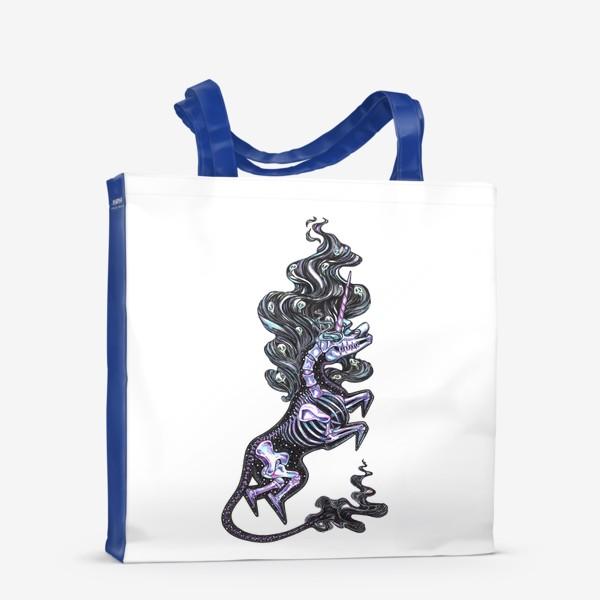Сумка-шоппер «Темный Единорог»