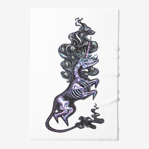 Полотенце «Темный Единорог»