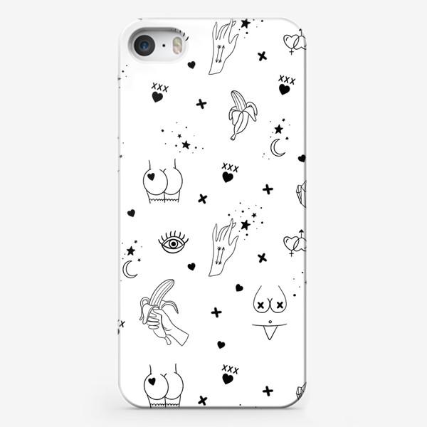 Чехол iPhone «Узоры 18+»