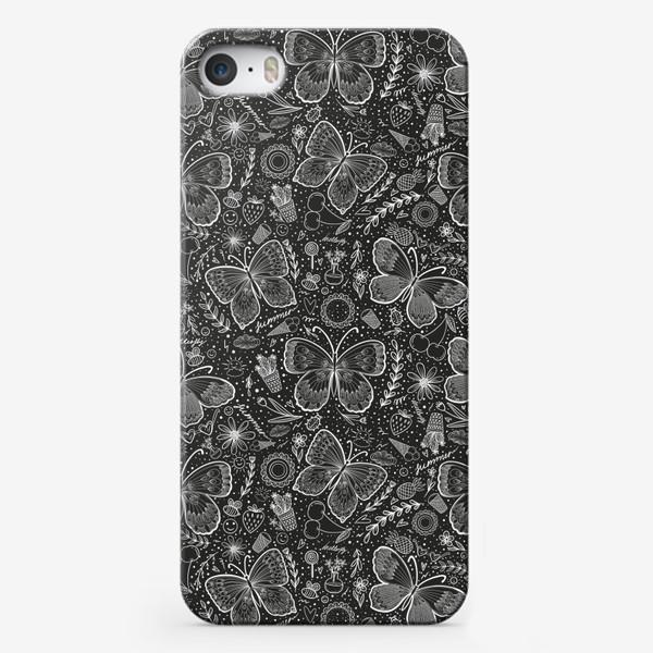 Чехол iPhone «Бабочки 2»