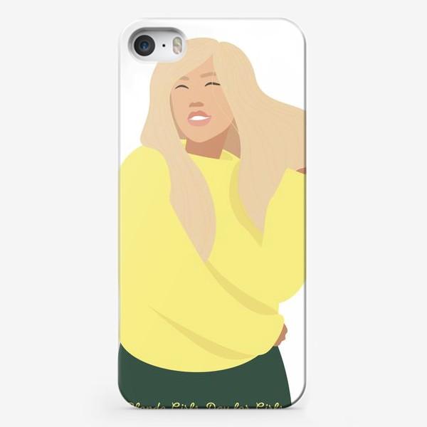 Чехол iPhone «День блондинок»