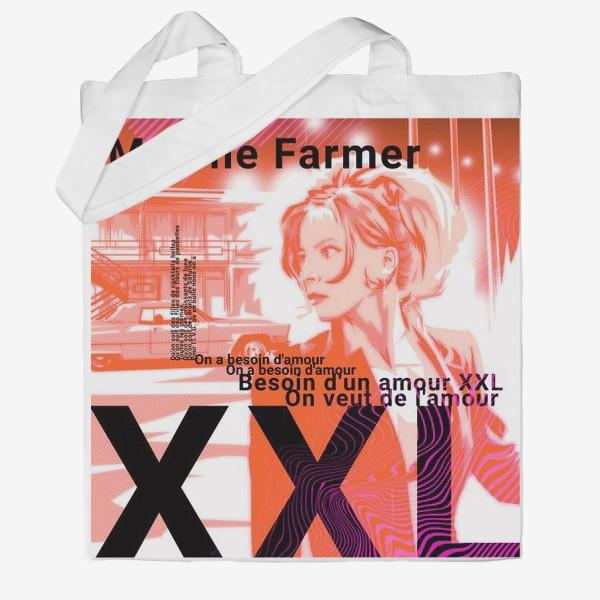 Сумка хб «Mylene Farmer»