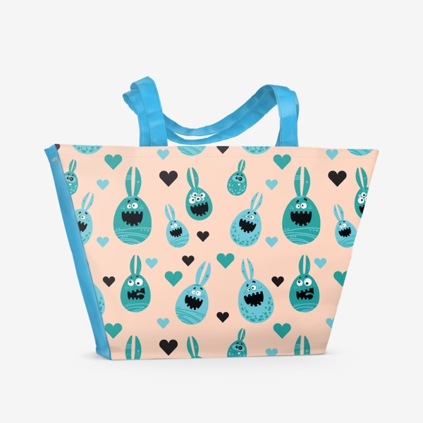 Пляжная сумка «С пасхой Вас!»