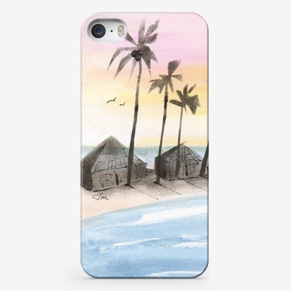 Чехол iPhone «Мальдивы»