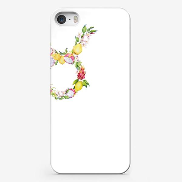 Чехол iPhone «Телец. Акварельный зодиак. Подарок тельцу»