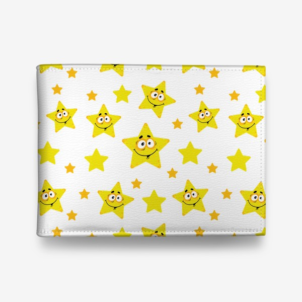 Кошелек «Небесный звездопад! Паттерн со звездами. »