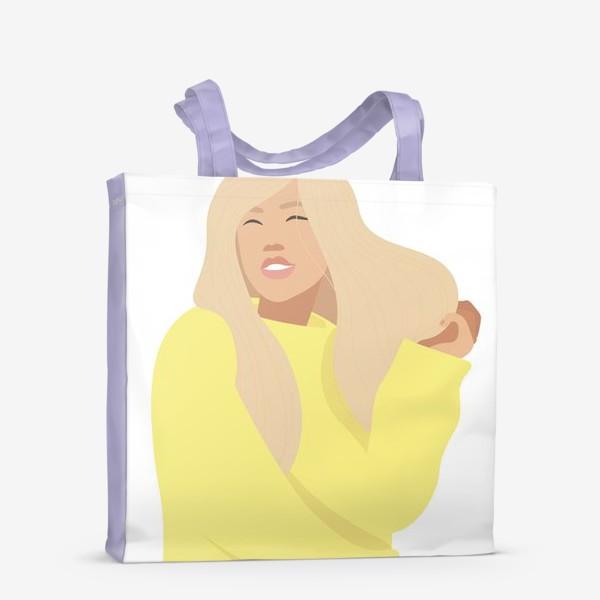 Сумка-шоппер «День блондинок»